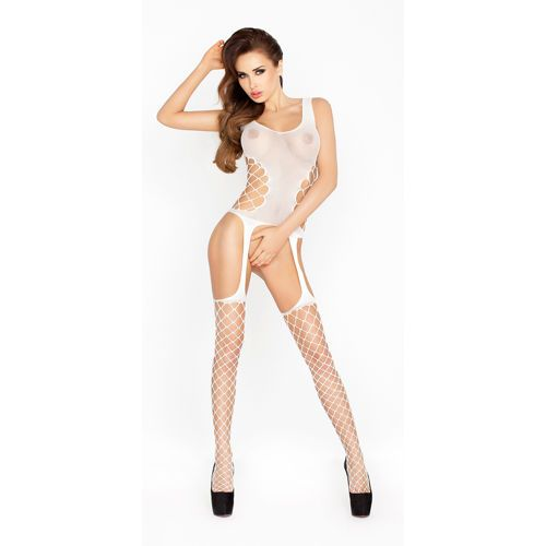 Bodystocking BS019 Wit van Passion