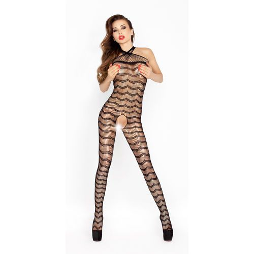 Bodystocking BS022 Zwart van Passion