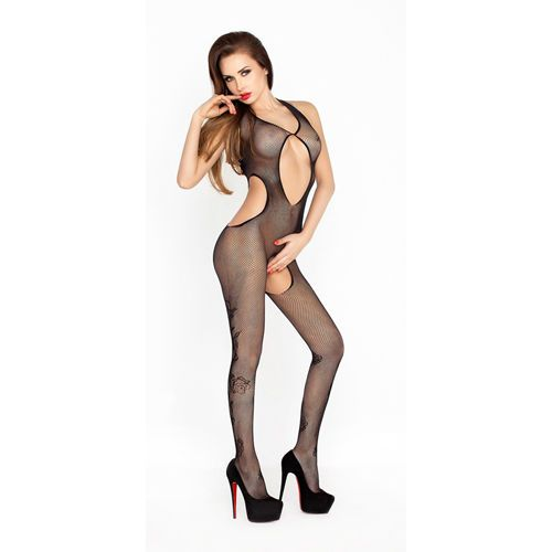Bodystocking BS028 Zwart van Passion