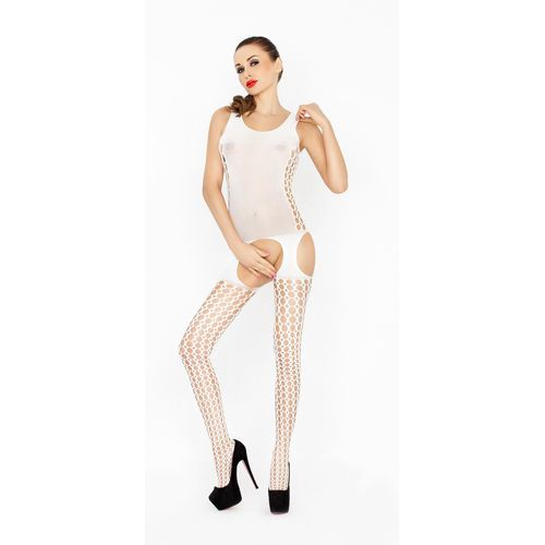 Bodystocking BS029 Wit van Passion