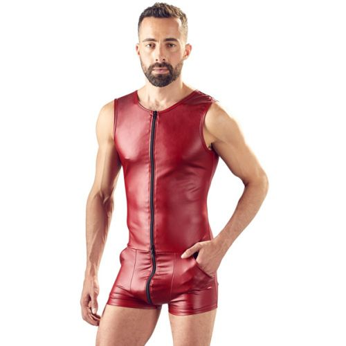 Ready For Action Playsuit - Rood